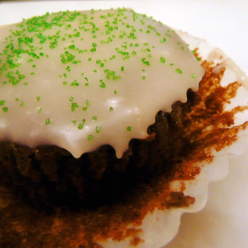 Guinness Cupcakes with Bailey's Icing