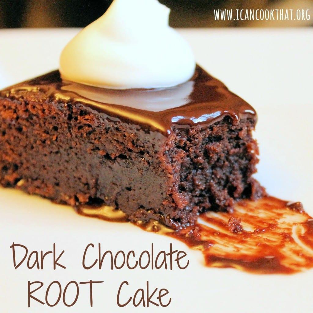 Dark Chocolate ROOT Cake