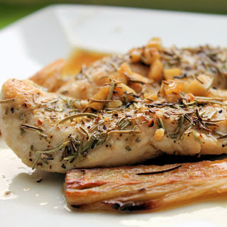 Sautéed Chicken Breasts with Fennel and Rosemary