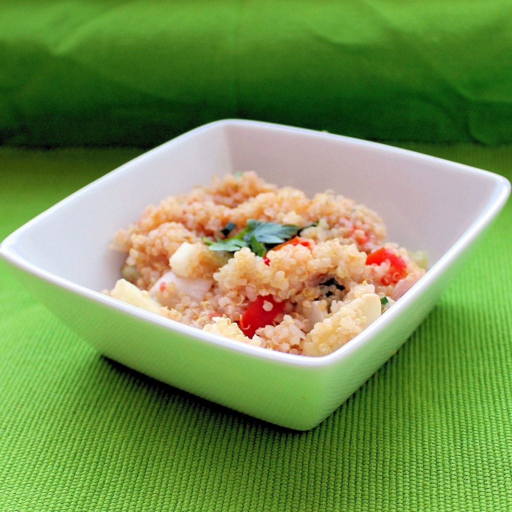 Quinoa Salad with Parsley. Or…. Tabbouleh.