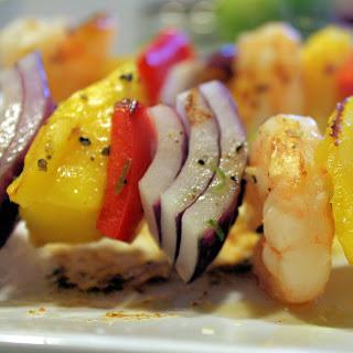 Mango Shrimp Kebabs
