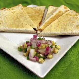 Cheesy Corn and Black Bean Quesadillas