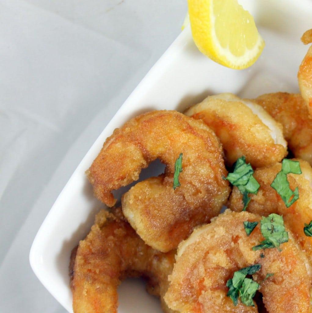 Kara-Age Popcorn Shrimp
