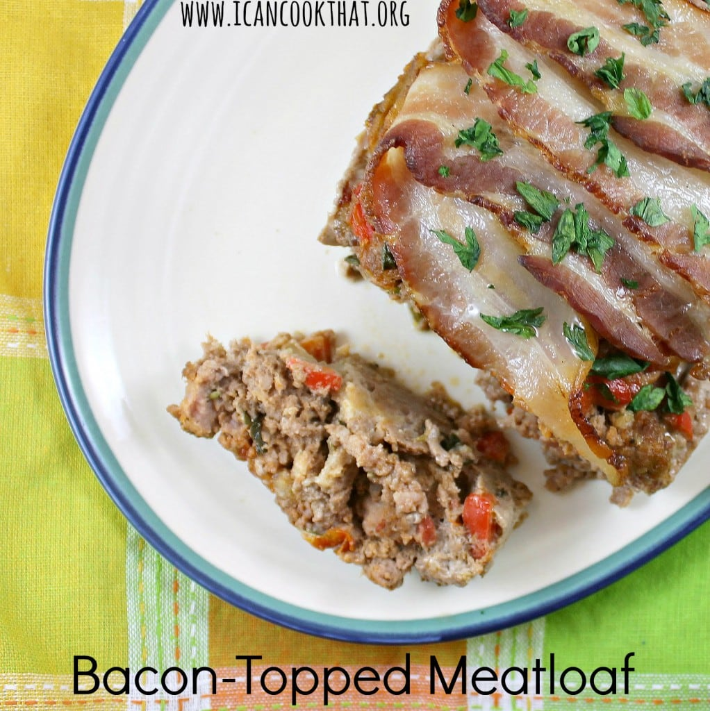 Bacon-Topped Meatloaf