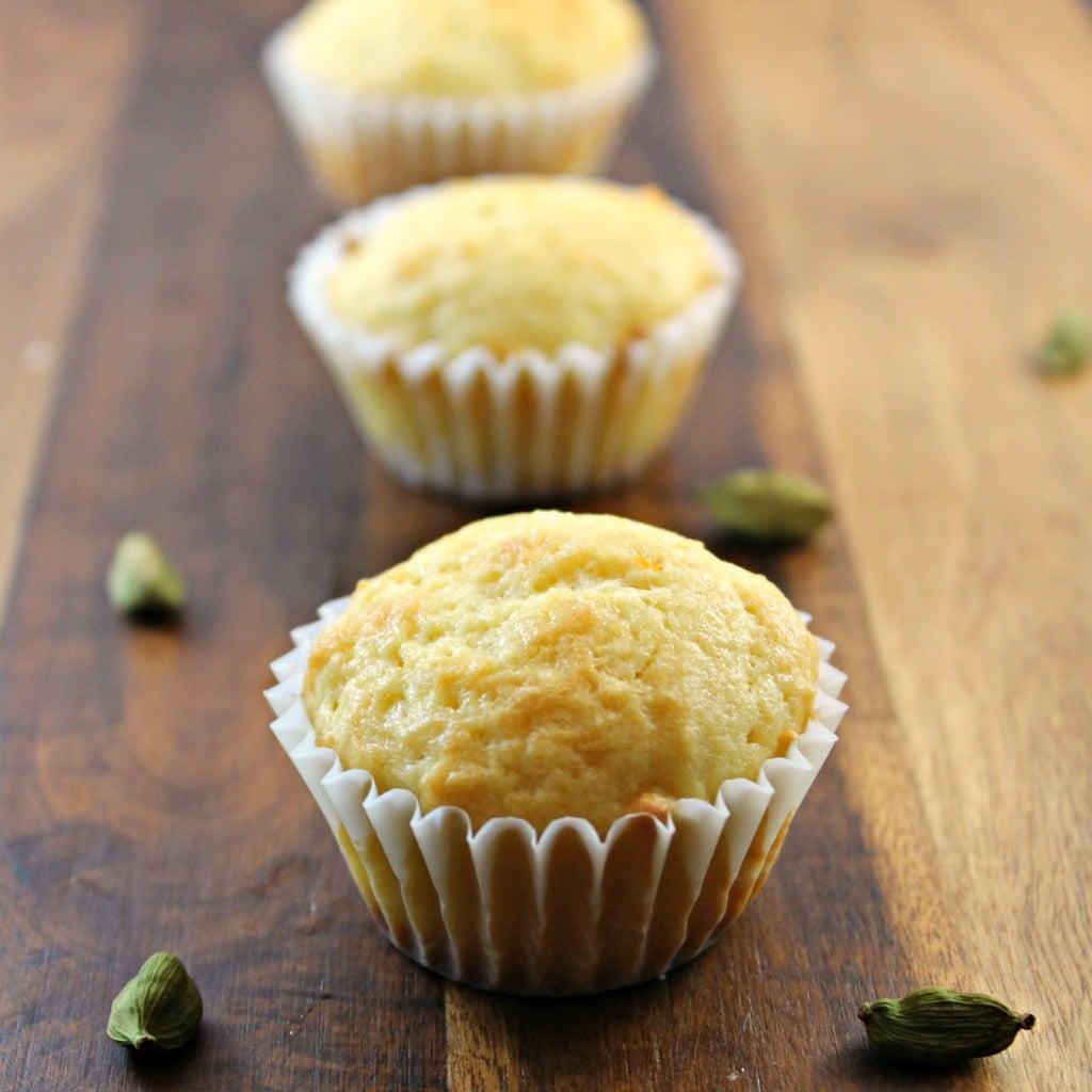 Mini Orange & Cardamom Muffins