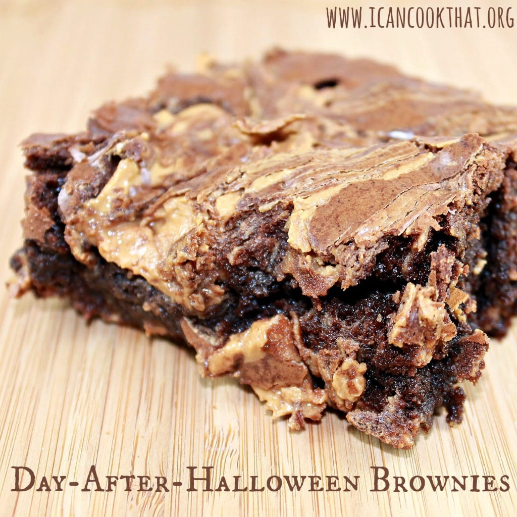 Day-After-Halloween Brownies