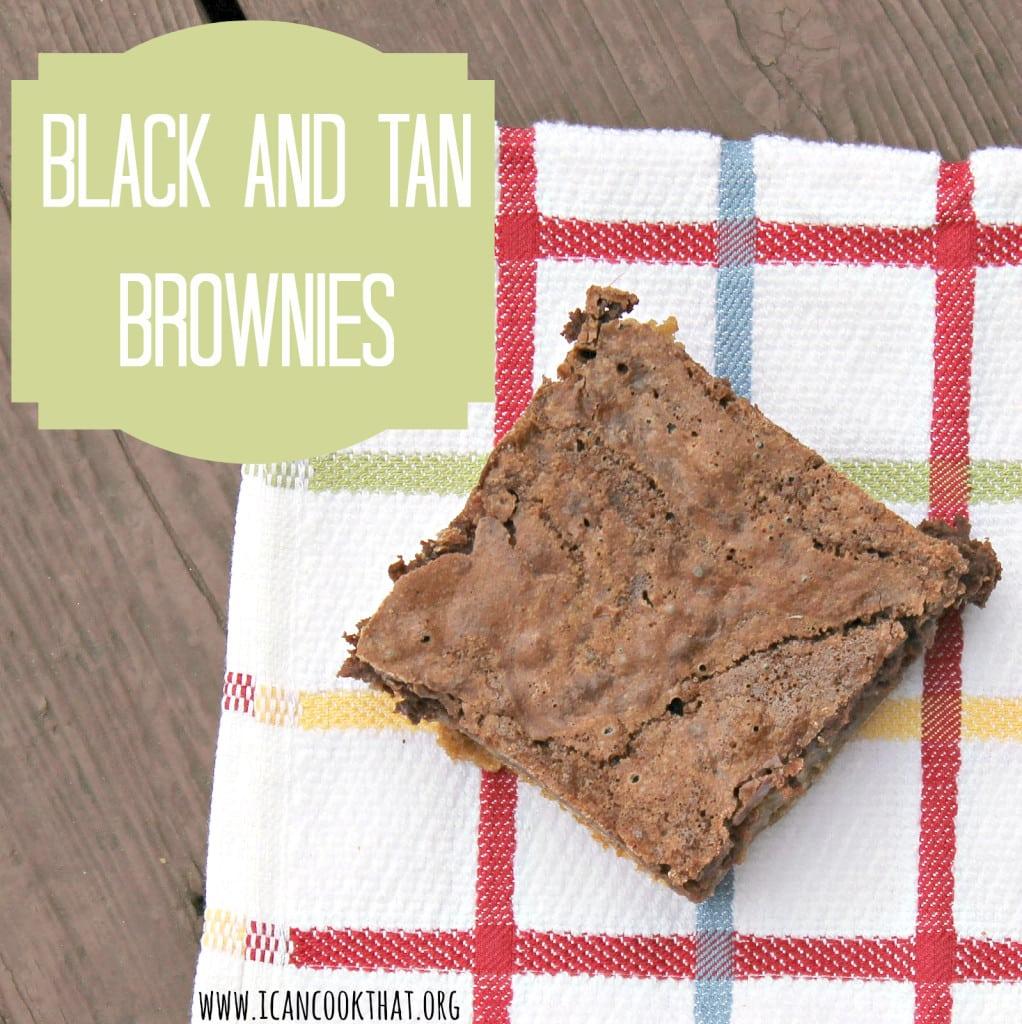 Black and Tan Brownies