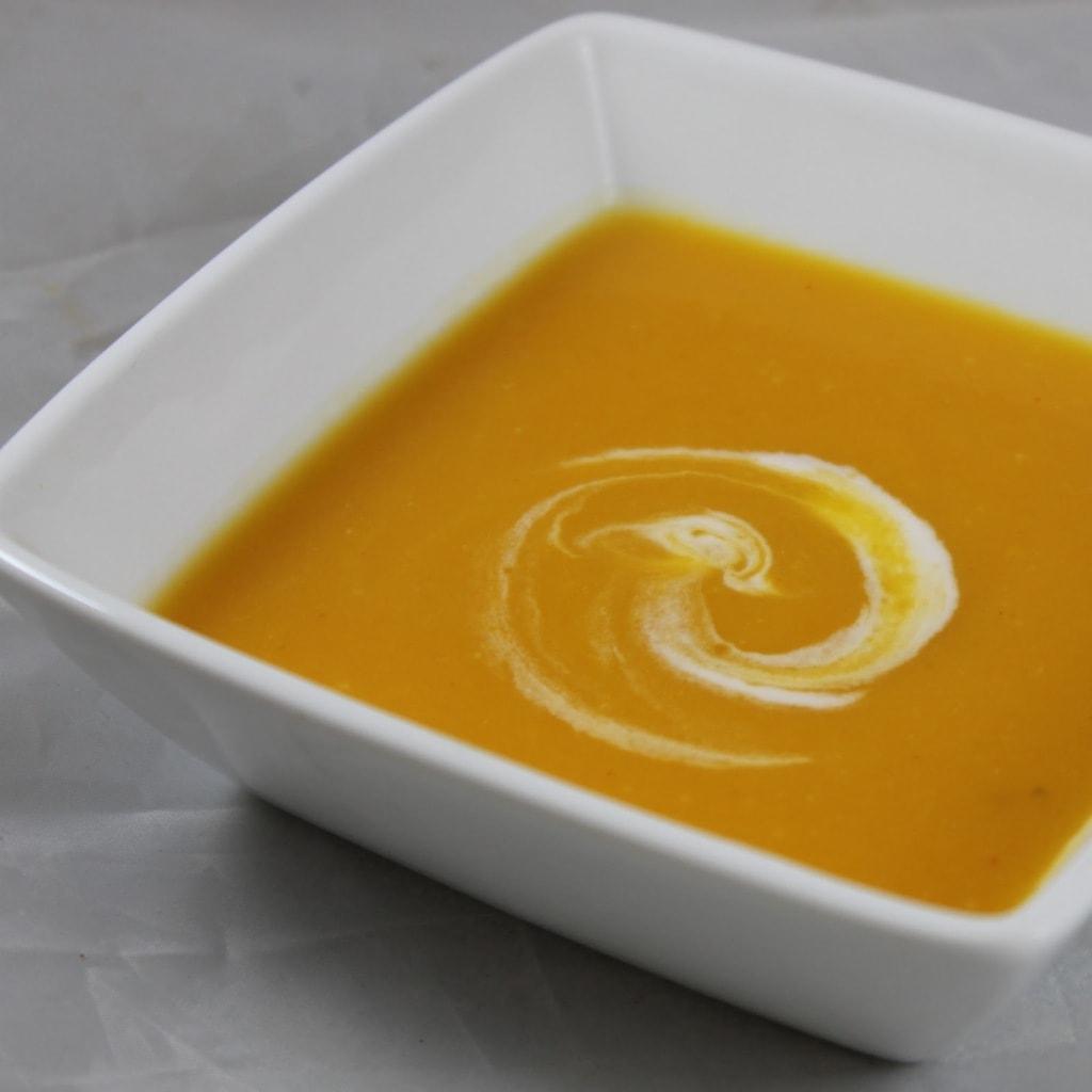Jalapeño-Ginger Butternut Squash Soup