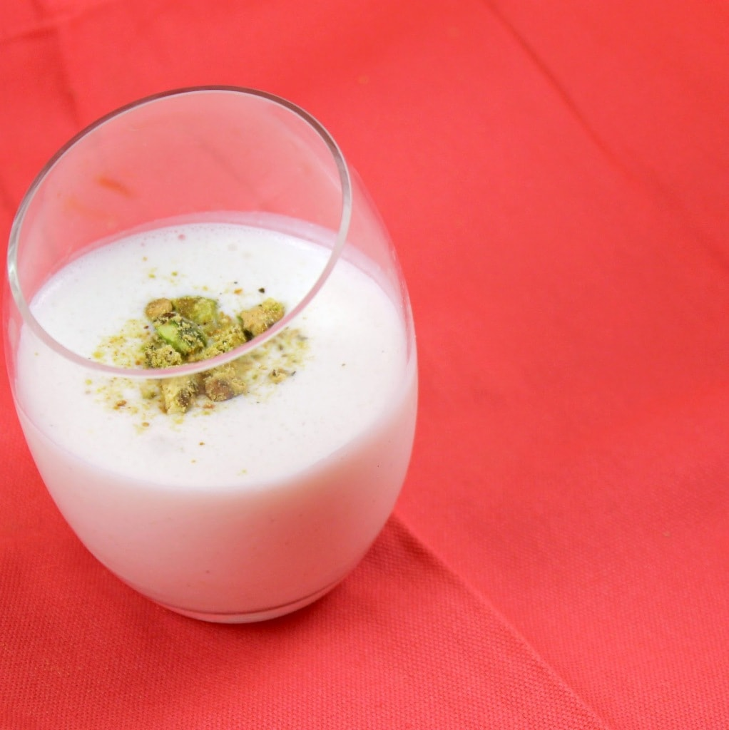 Rose Water Cardamom Lassi