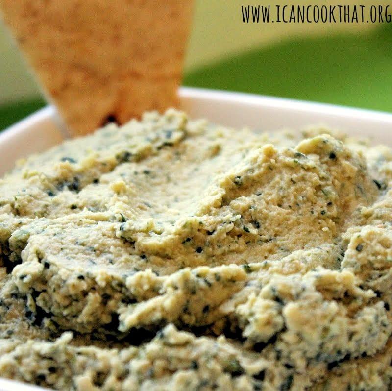 Cilantro-Lime Hummus
