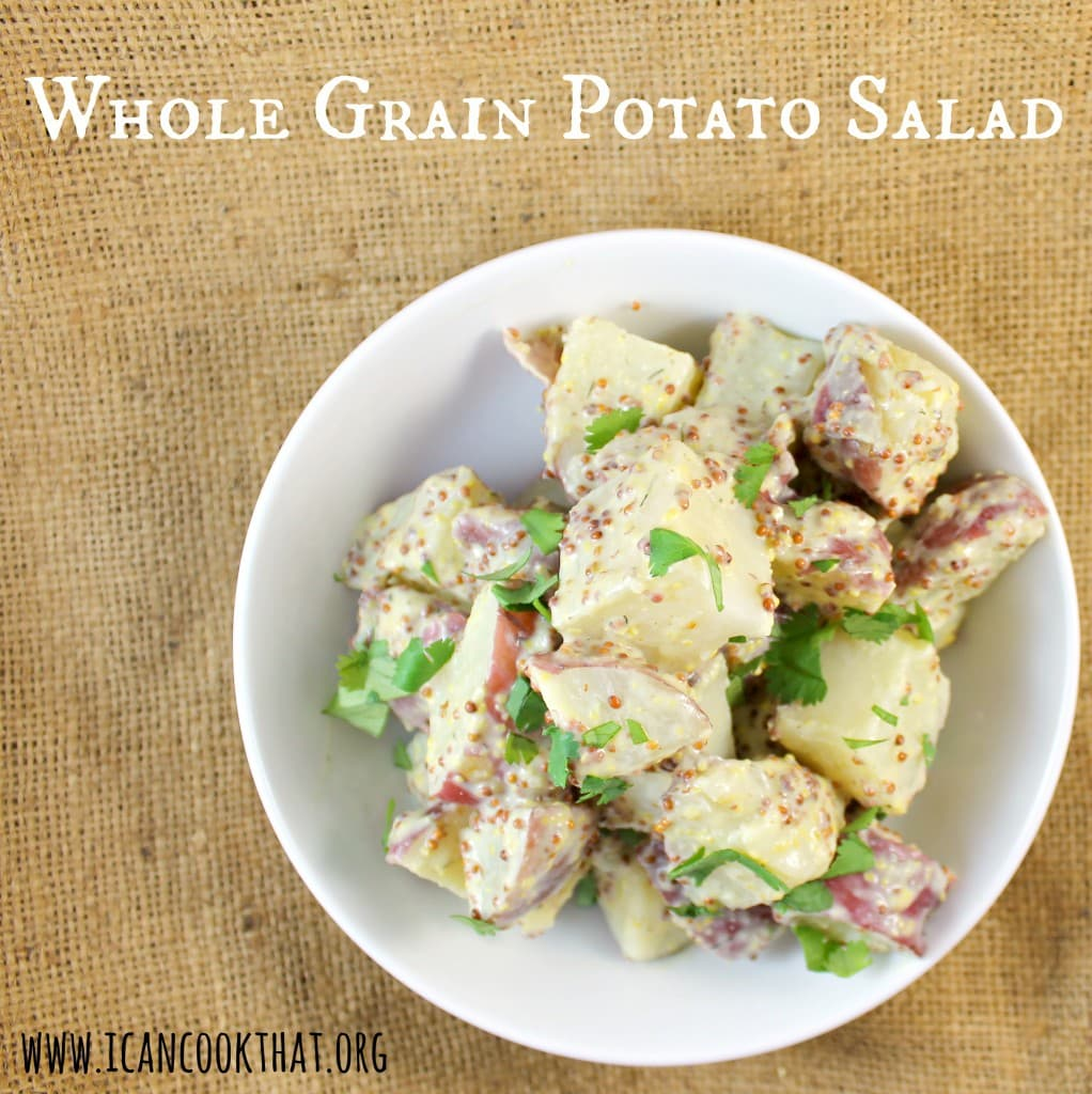 Whole Grain Mustard Potato Salad