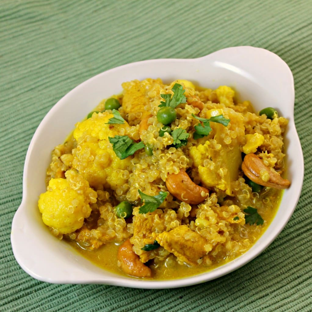 Quinoa Indian Chicken Curry