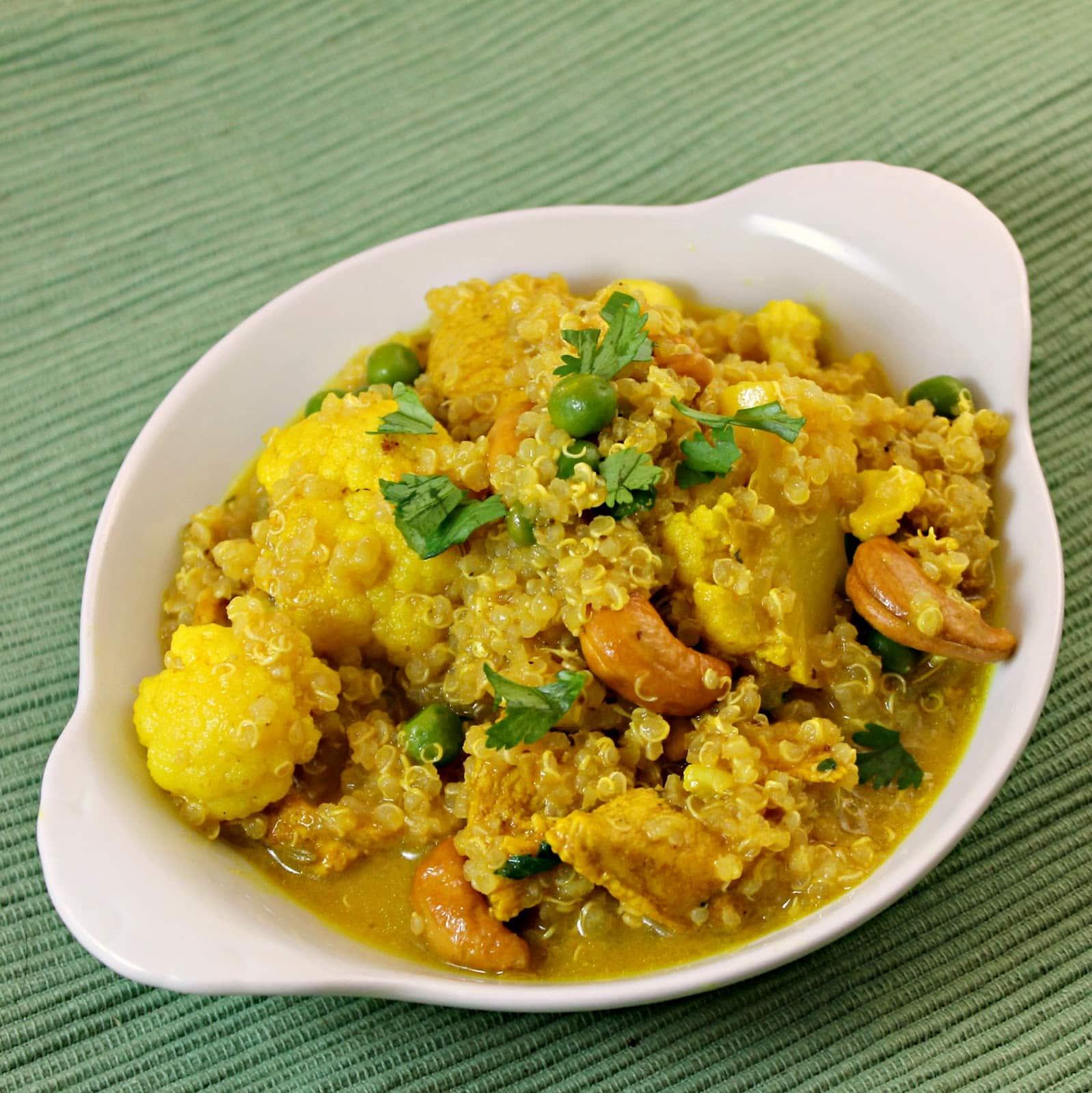 Quinoa Chicken Curry Recipe