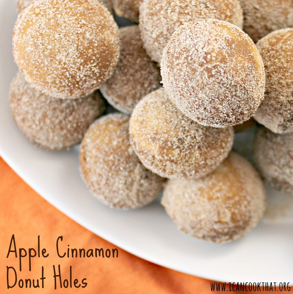 Apple Cinnamon Donut Holes
