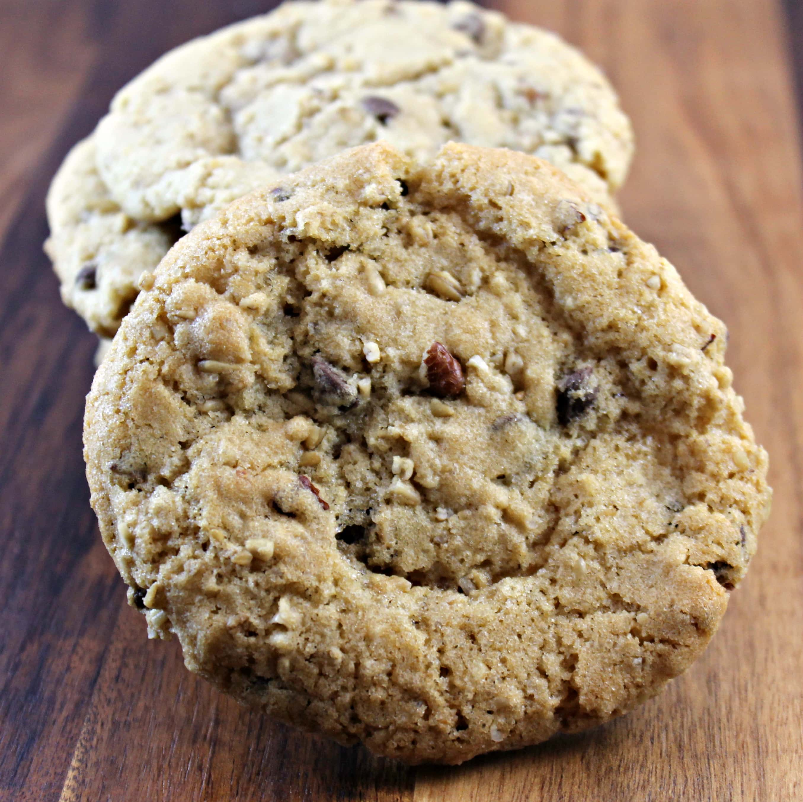 Oatmeal, Chocolate Chip, and Pecan Cookies | I Can Cook That