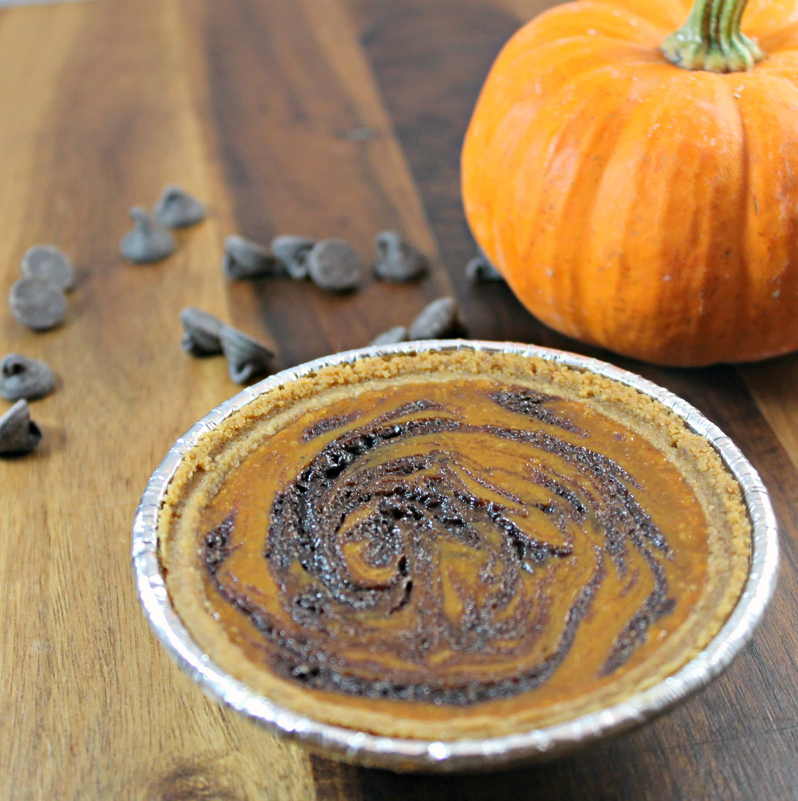 Pumpkin Chocolate Swirl Pie Recipes — Dishmaps