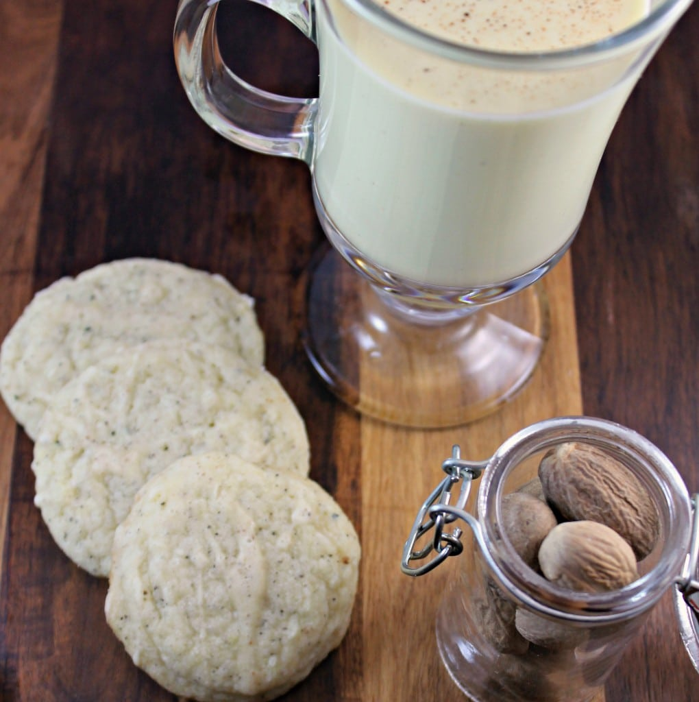 Chai Tea Eggnog Sugar Cookies