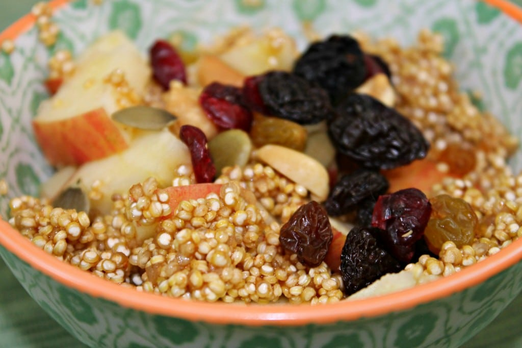 Apple-Cinnamon Breakfast Quinoa