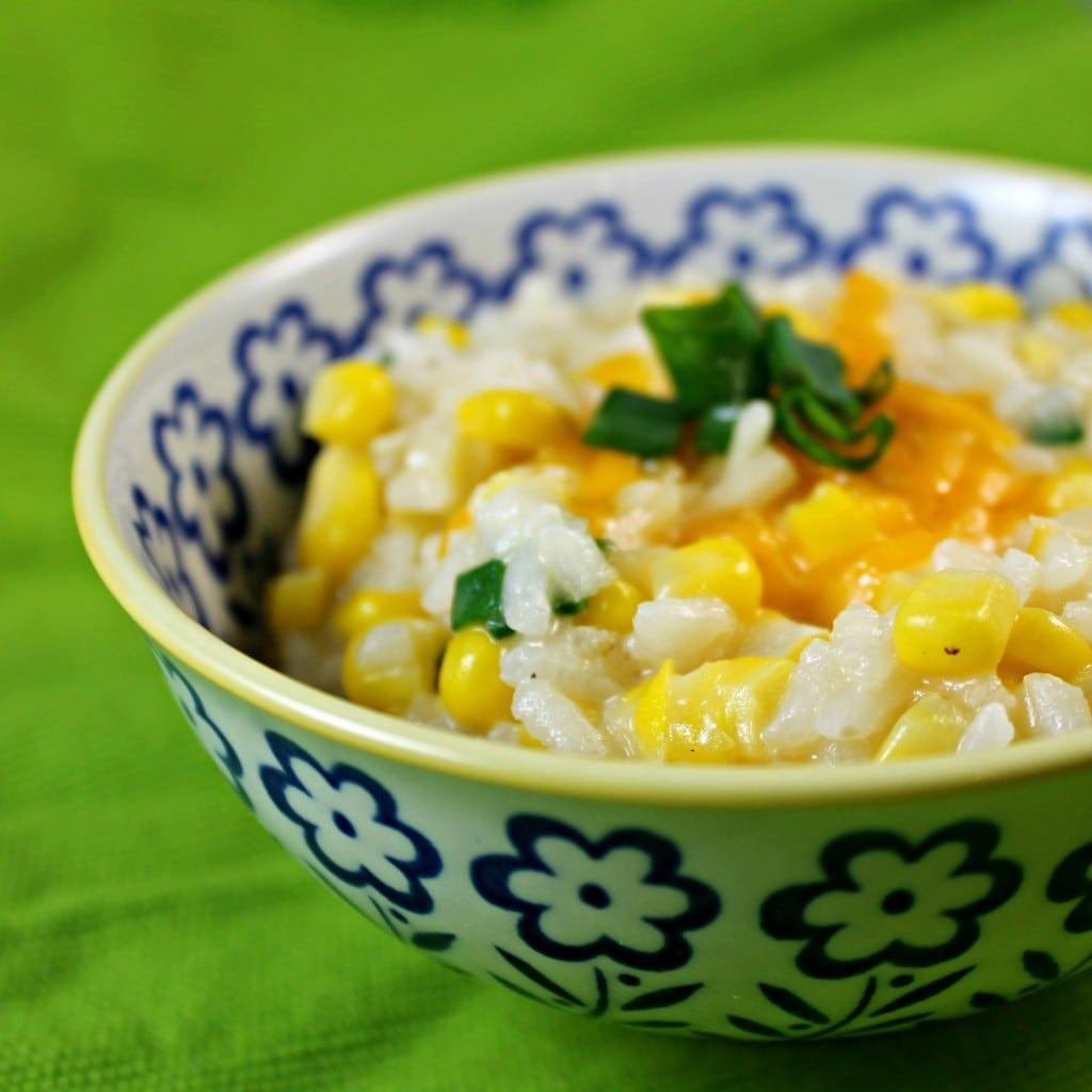 Creamy Corn Risotto