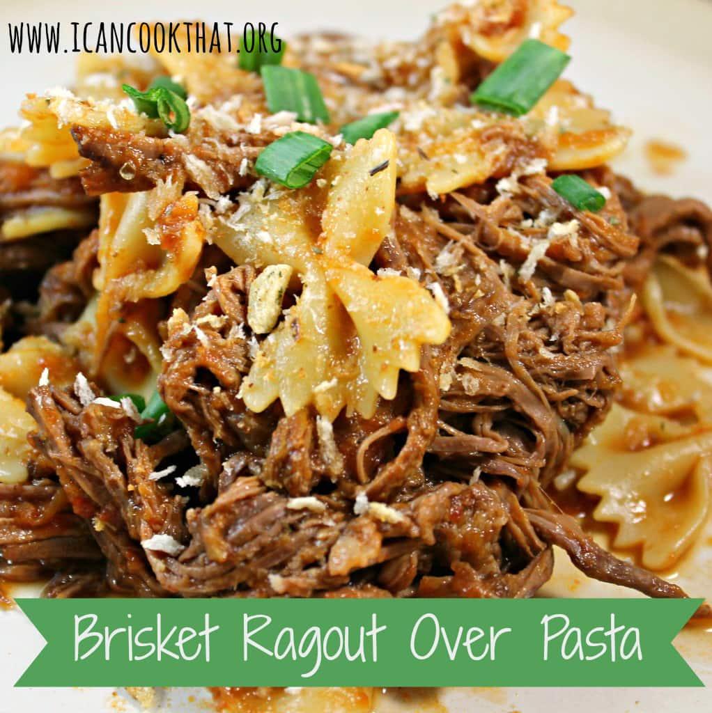 Brisket Ragout over Pasta
