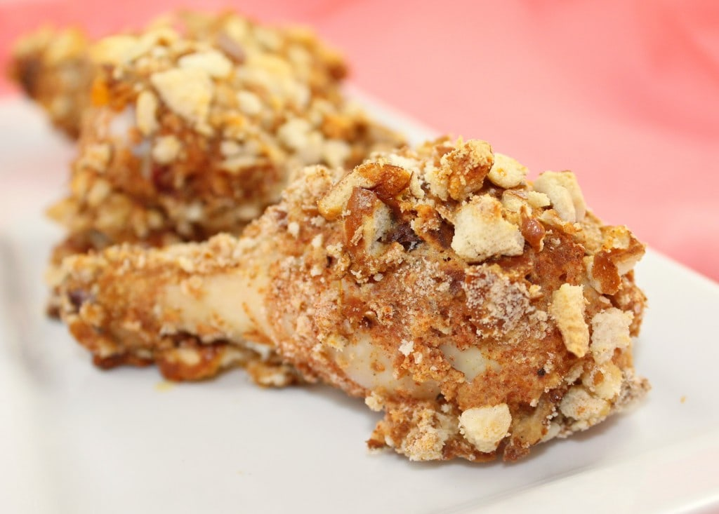 "Pretzel-Crusted ""Fried"" Chicken"