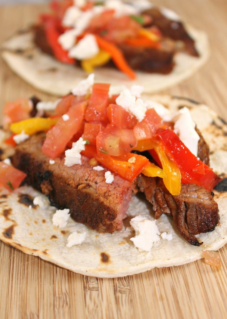 Steak Tacos with Lime Mayo