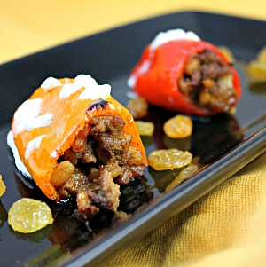 Mediterranean Stuffed Mini Peppers