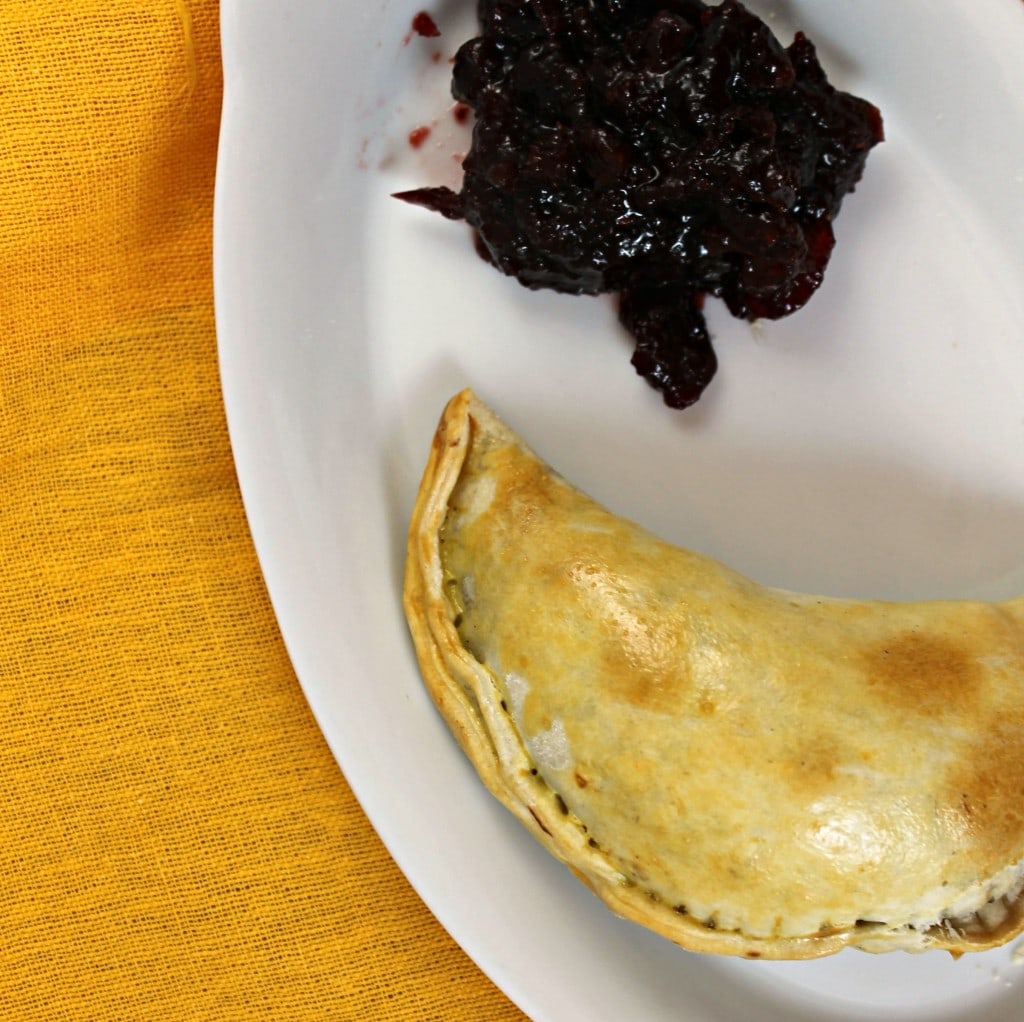 Wine Infused Thanksgiving Leftover Empanadas