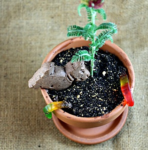 """Dirt"" Flower Pot"