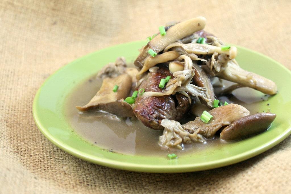 Seared Steak with Mushroom Marsala Sauce