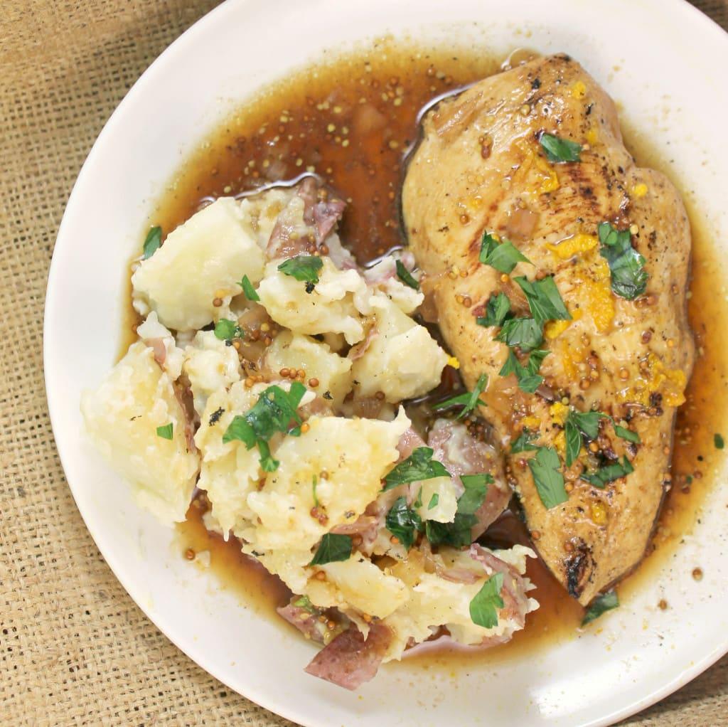 Chicken with Honey Sofie Sauce