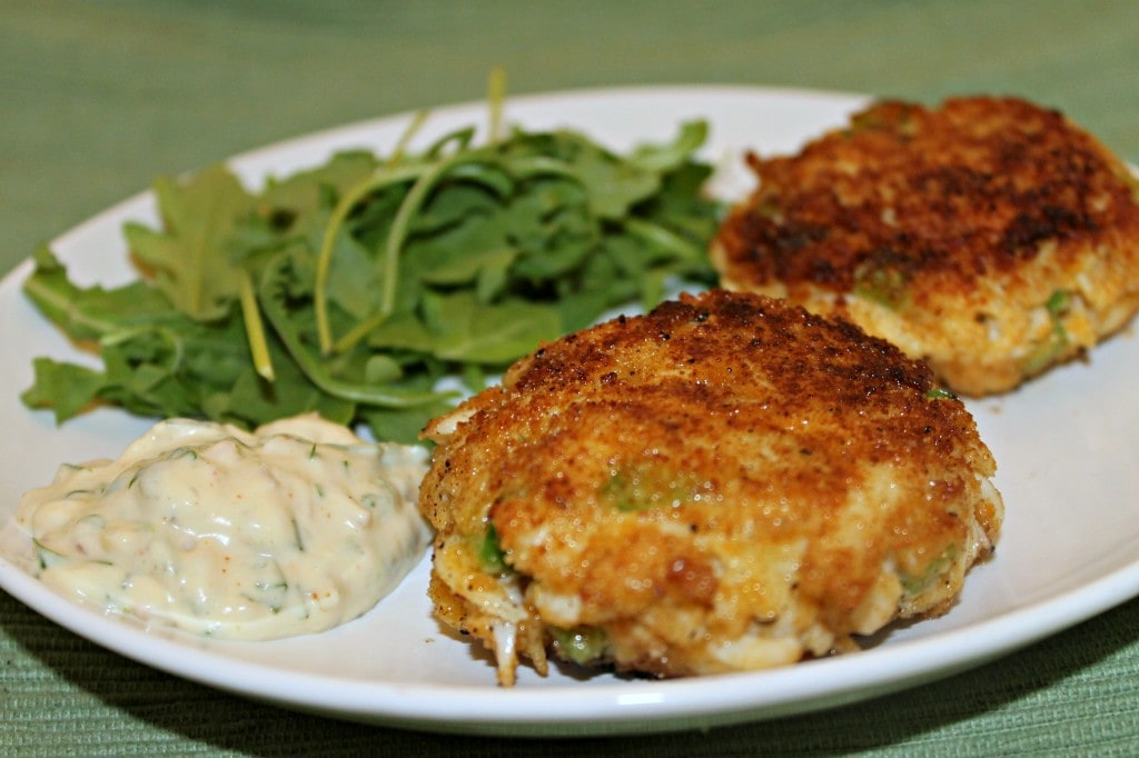Crabcakes with Spicy Remoulade