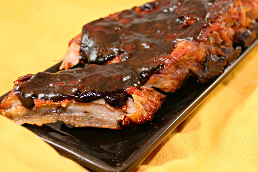 Slow Cooker Baby Back Ribs