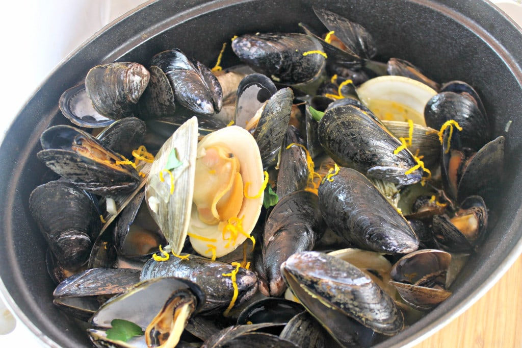 Beer-Steamed Clams and Mussels | I Can Cook That