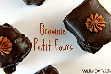 Brownie Petit Fours