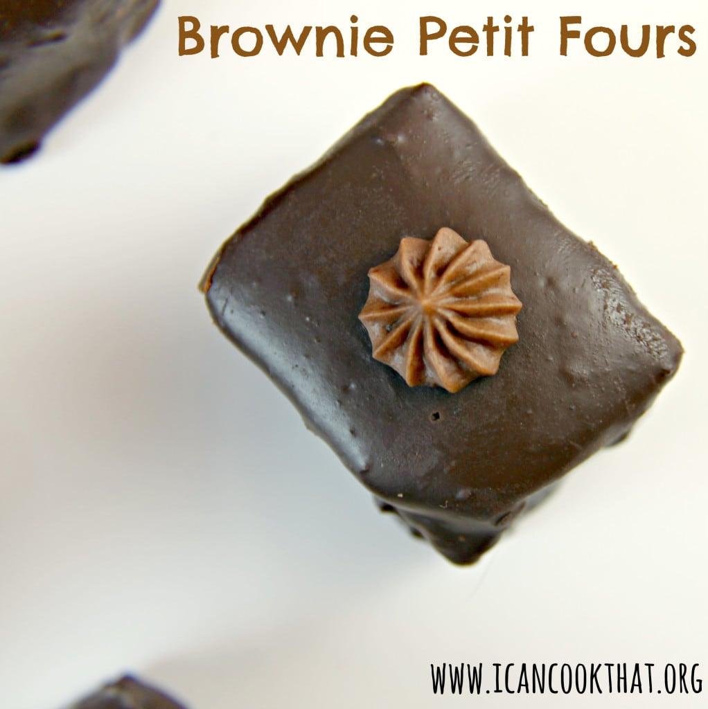Brownie Petit Fours