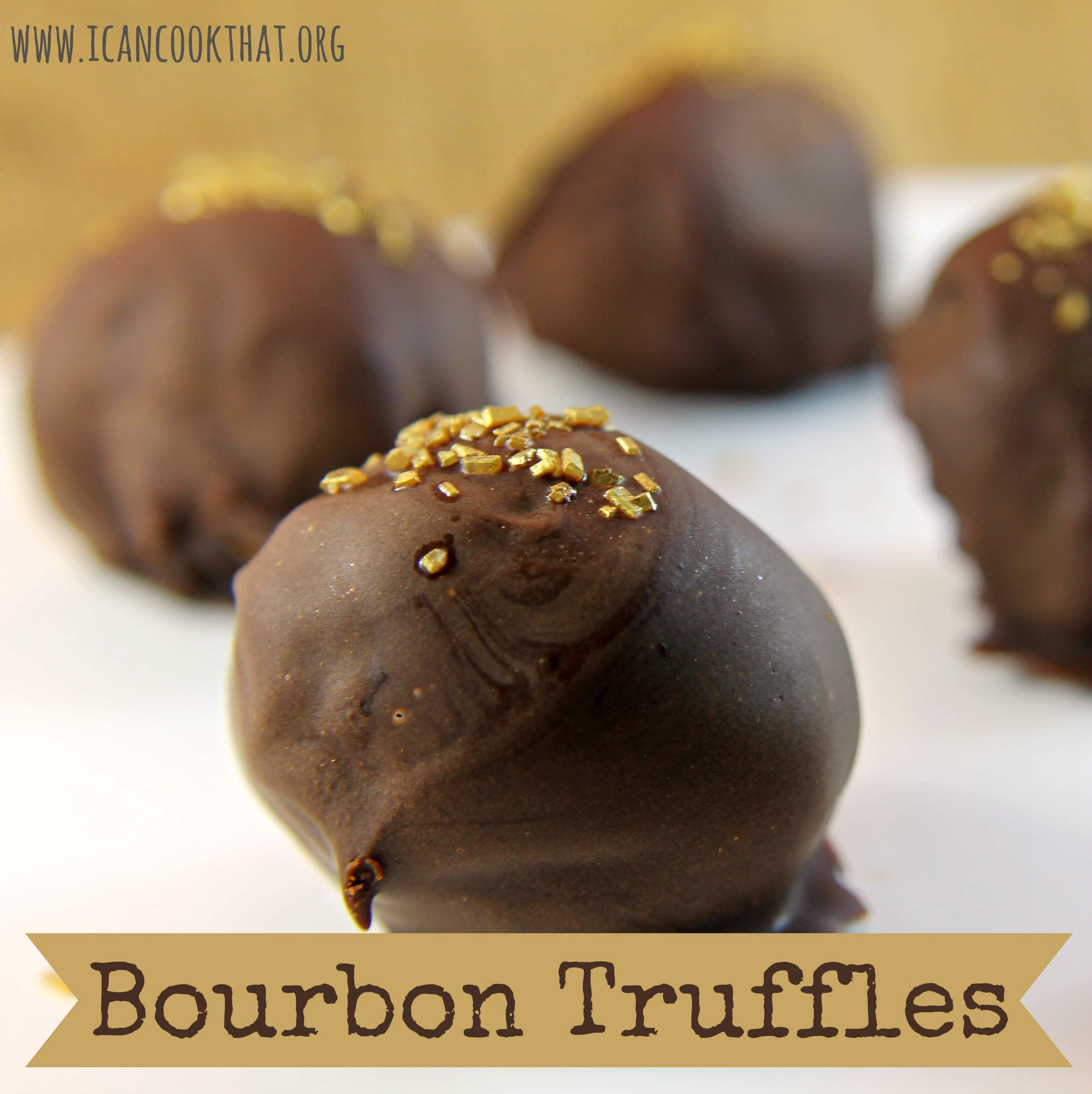 Bourbon Truffles Recipe - I Can Cook That | I Can Cook That
