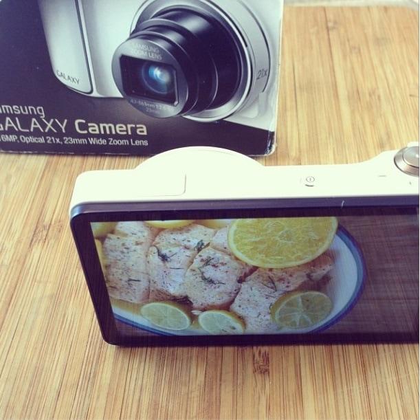 Samsung Galaxy Camera using Verizon Wireless' 4G LTE Network