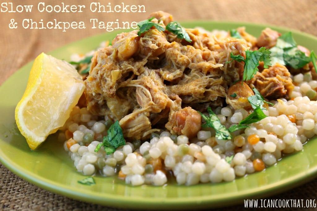 Slow Cooker Chicken & Chickpea Tagine
