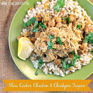 Slow Cooker Chicken & Chickpea Tagine