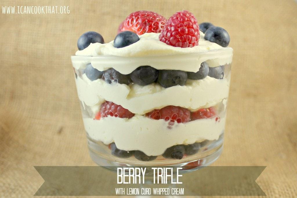 Mini Berry Trifles #SLSweetTreats