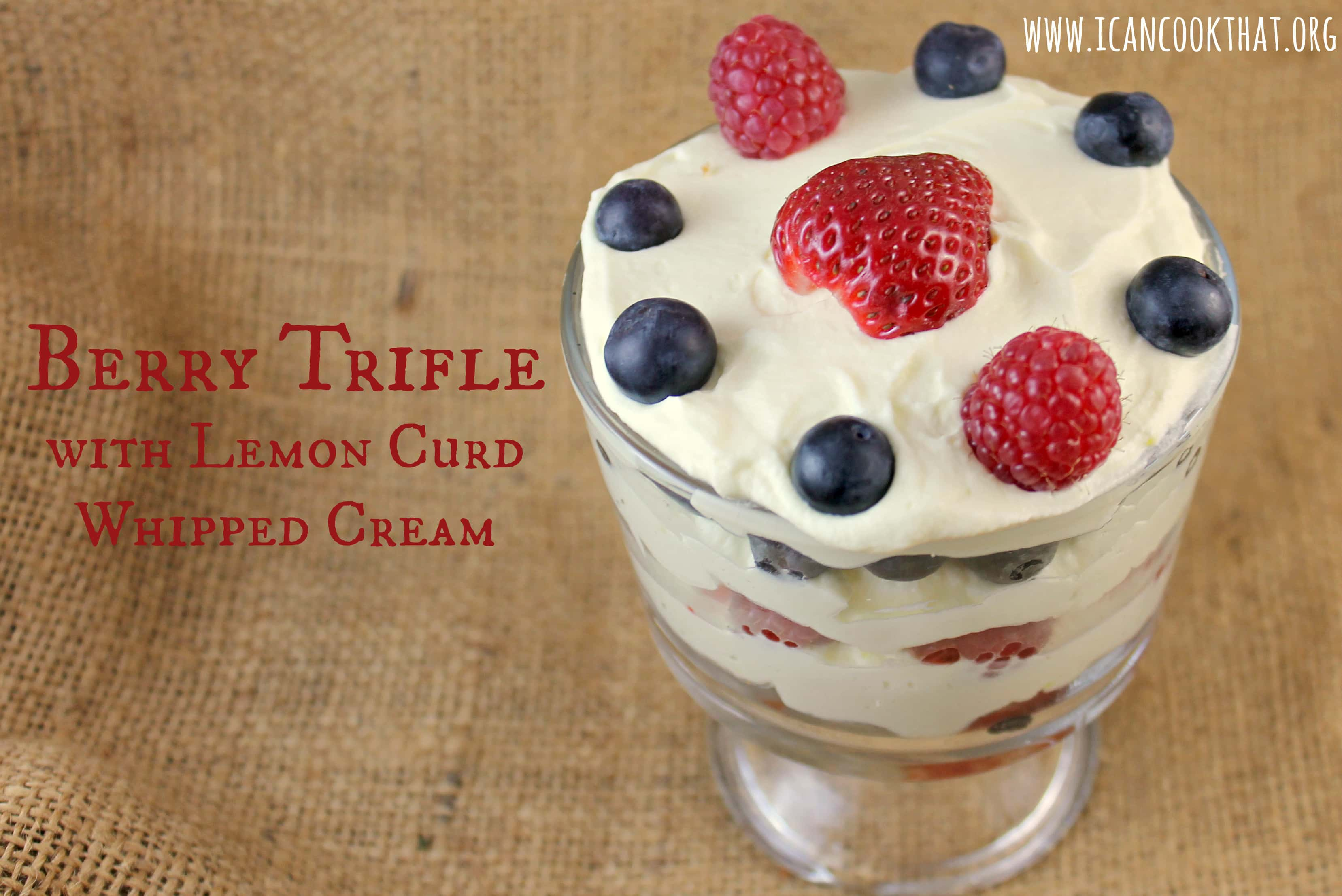 Mini Berry Trifles