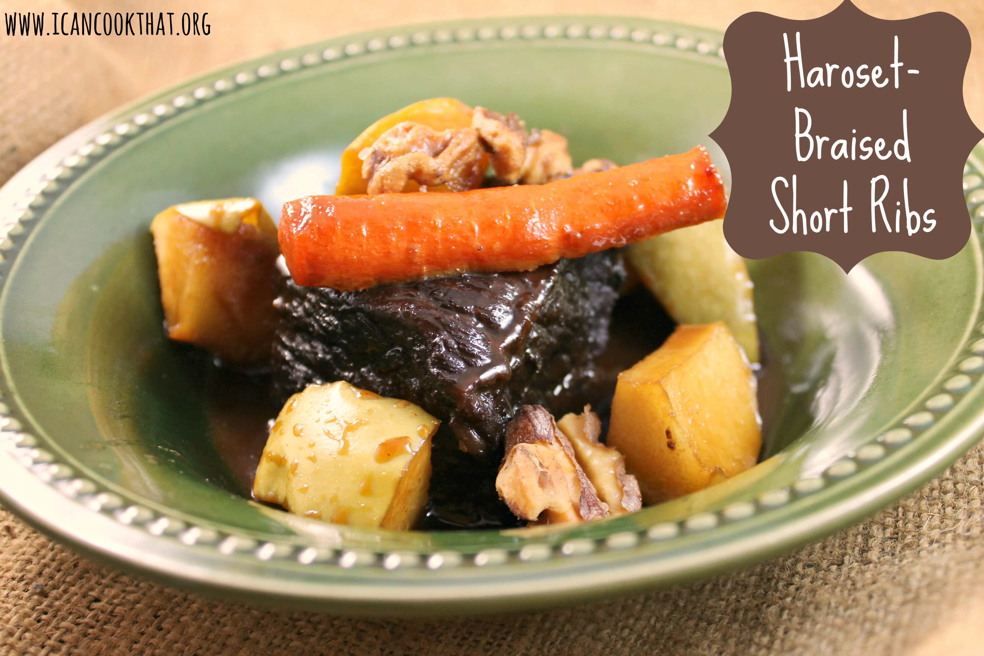 Slow Cooked Short Ribs With Carrots And Apples Recipes — Dishmaps