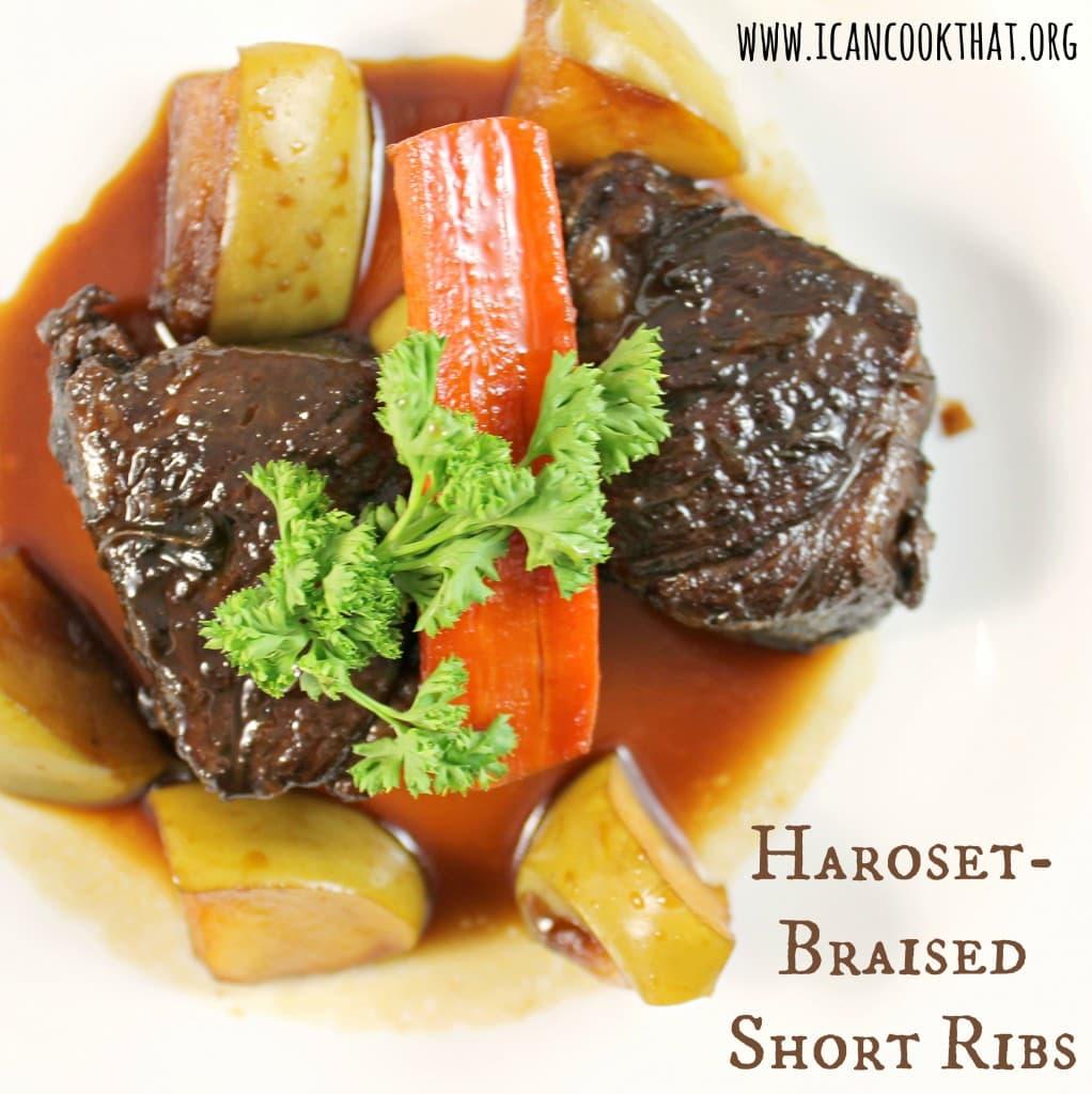 Haroset-Braised Short Ribs