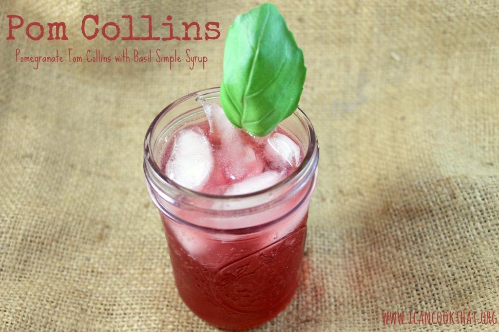 Pom Collins Cocktail