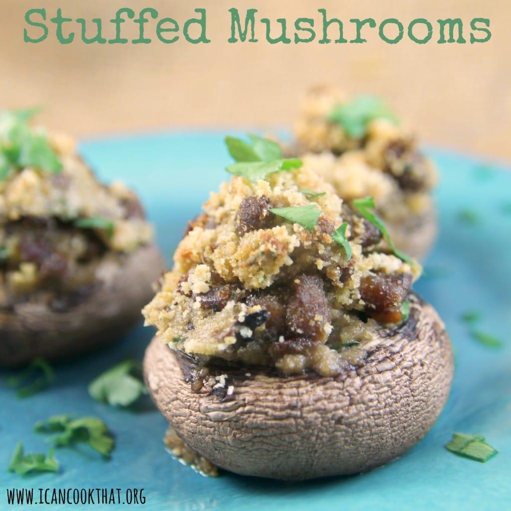 Stuffed Mushrooms #JDCrumbles