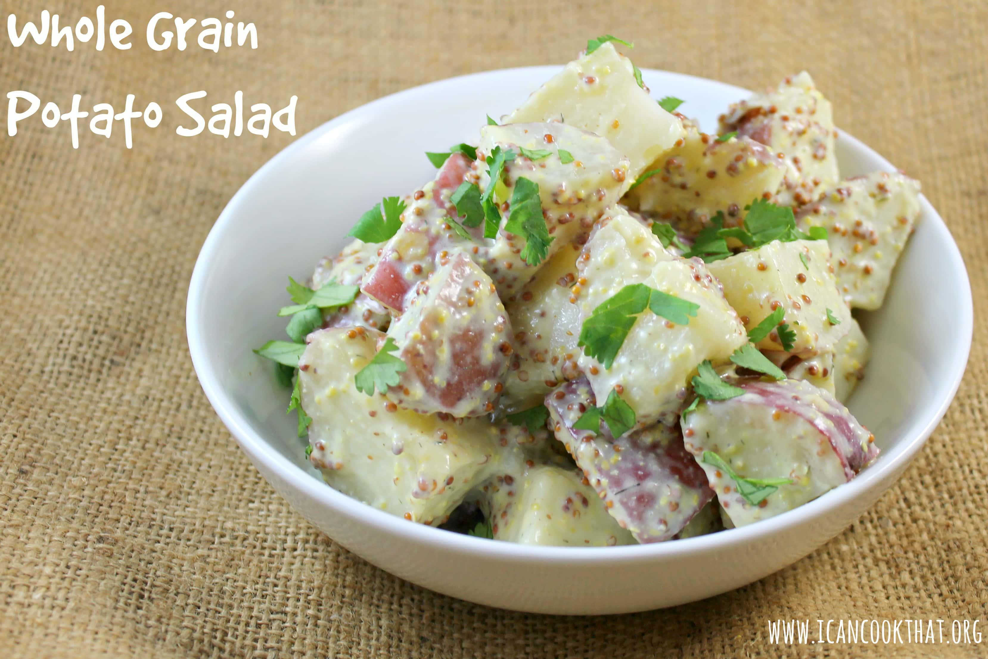 Potato Salad Recipe Sour Cream Seeded Mustard