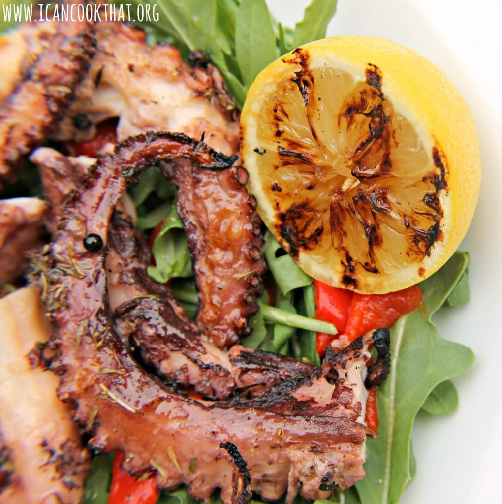how to cook octopus salad
