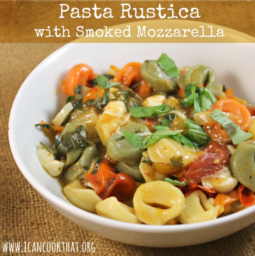 Pasta Rustica with Smoked Mozzarella
