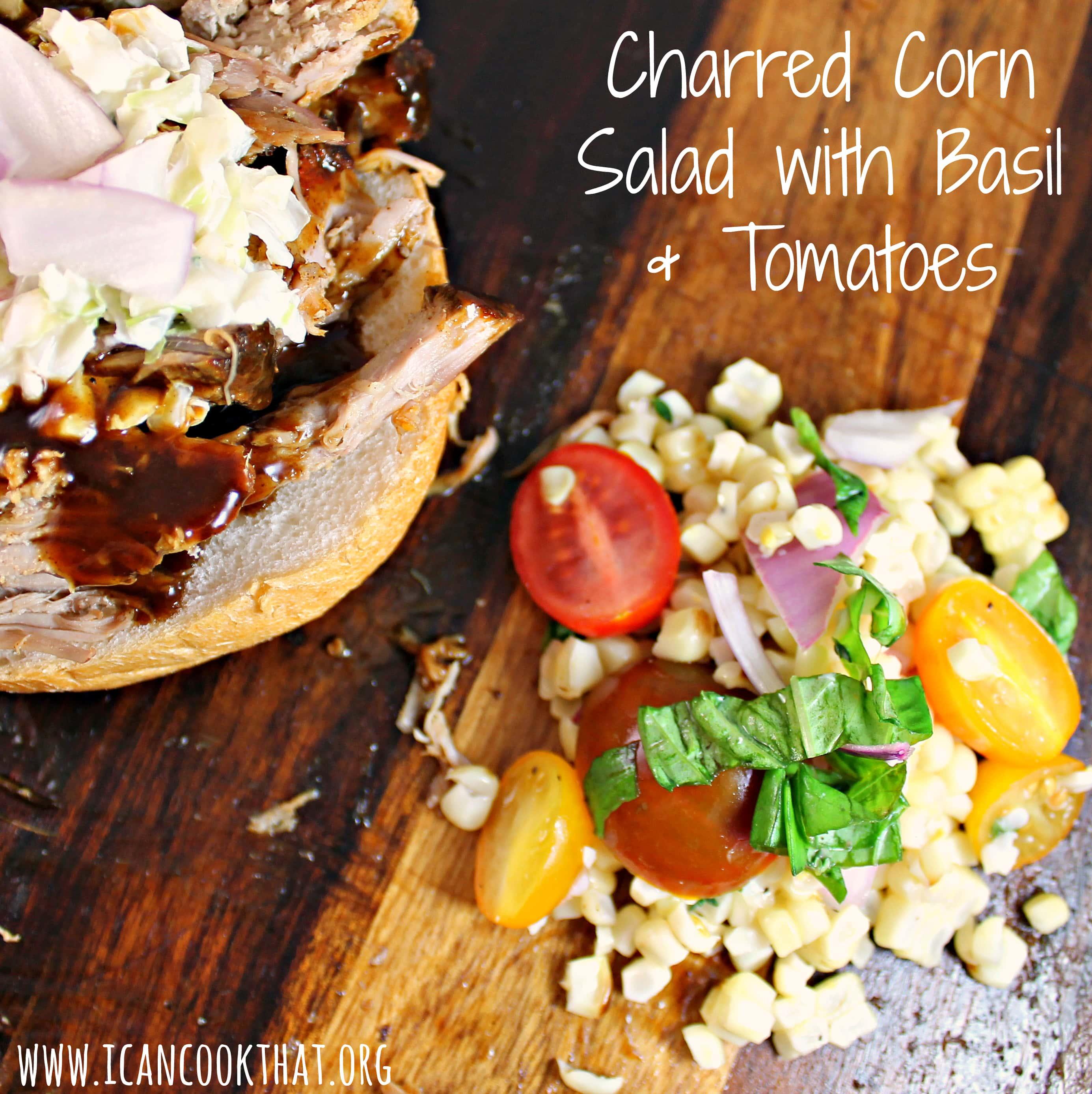 charred corn salsa orzo salad with basil and tomatoes charred corn ...